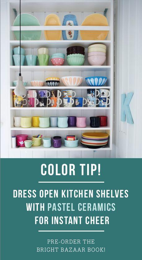 Applying 16 Bright Kitchen Paint Colors: 16 Best Mismatched Kitchen Images On Pinterest