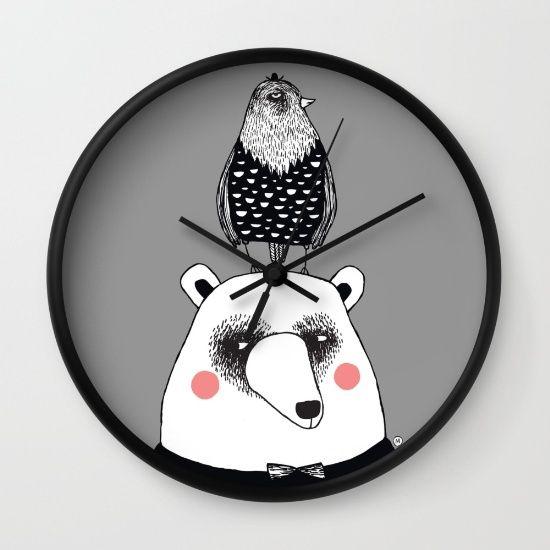 bear & bird society6.com/MiraMallius