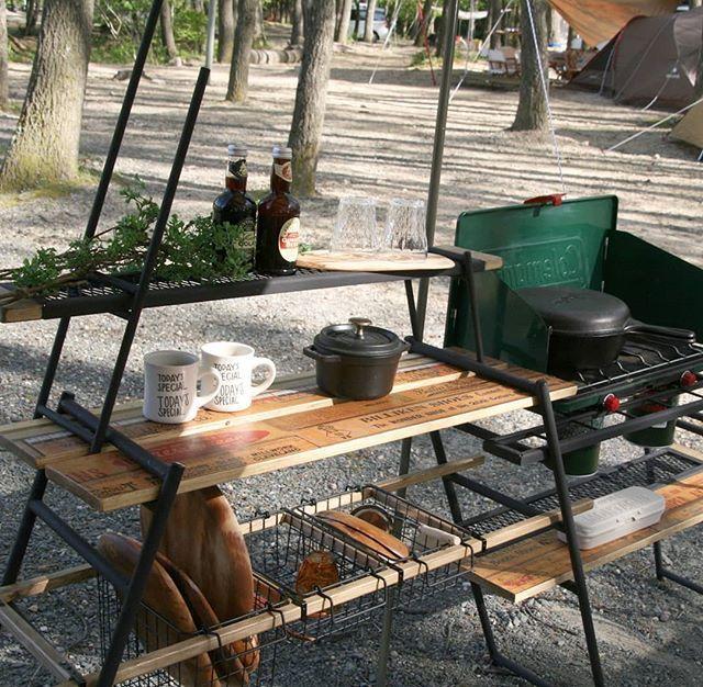 テキーラキッチンレッグをワンバイ木材で使う方法 おすすめテクニック5選 Dod Journal ディーオーディージャーナル キャンプ用 キッチン アウトドアキッチン キャンプ