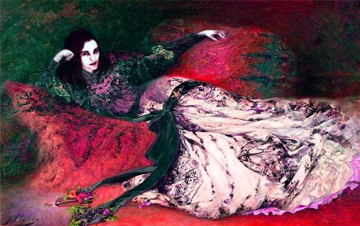 Myself over Sarah Bernhardt.