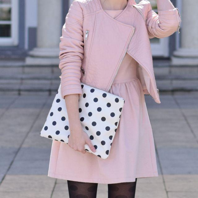 soft pink & polka dots www.fresshion.com