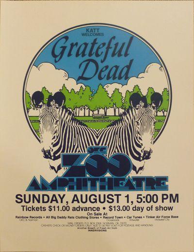 GRATEFUL DEAD at OKC Zoo Amphitheatre 1982  Details    GRATEFUL DEAD at OKC Zoo Amphitheatre, Oaklahoma City