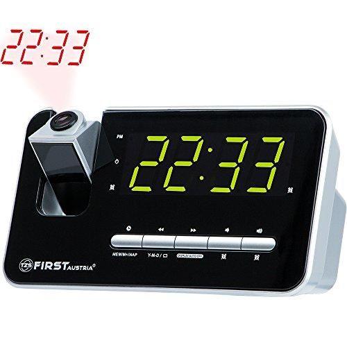 Oferta: 24.95€ Dto: -50%. Comprar Ofertas de Radio despertador con proyector | pantalla LED de 1,2  atenuable (3 niveles) o apagable | memoria para 10 emisoras | Snooze | barato. ¡Mira las ofertas!