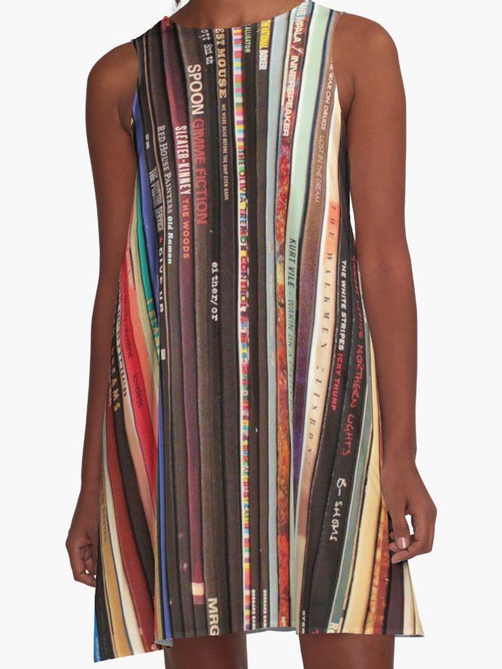 Vinyl Indie Rock Record Redbubble dress Tame Impala Beck Modest Mouse Coachella #redbubble