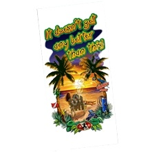 Amphibious Outfitters Sunset Beach Large Beach Towel