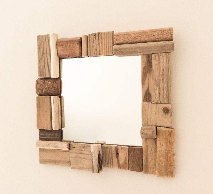 1000 id es sur le th me miroir bois flott sur pinterest for Miroir en bois flotte