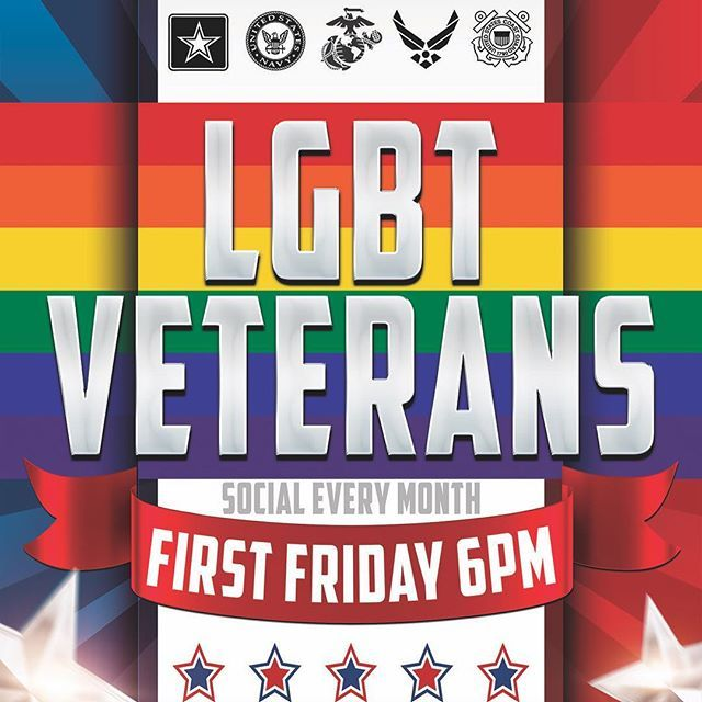 Come join the LGBT Veterans at the First Friday Happy Hour Social every month at Guava Lamp (6pm): https://www.facebook.com/events/1476372832423518/