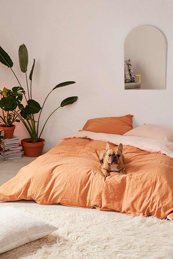 Linen Blend Duvet Cover | Urban Outfitters