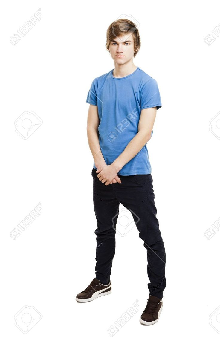 teen picture of man