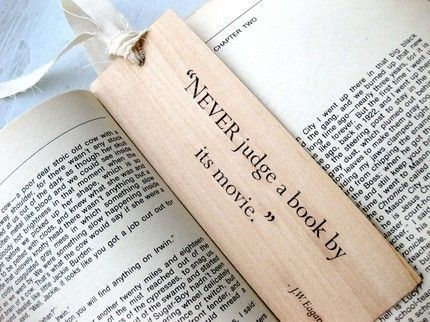 Truer words were never printed on a book mark .