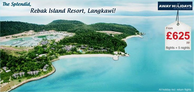 Indulge in a luxury vacation par excellence with Away Holidays. Exclusive offers available on holidays to Rebak Island Resort, Langkawi. Call now for details! http://awayholidays.co.uk/fareast/malaysia/langkawi/rebak-island-resort.aspx