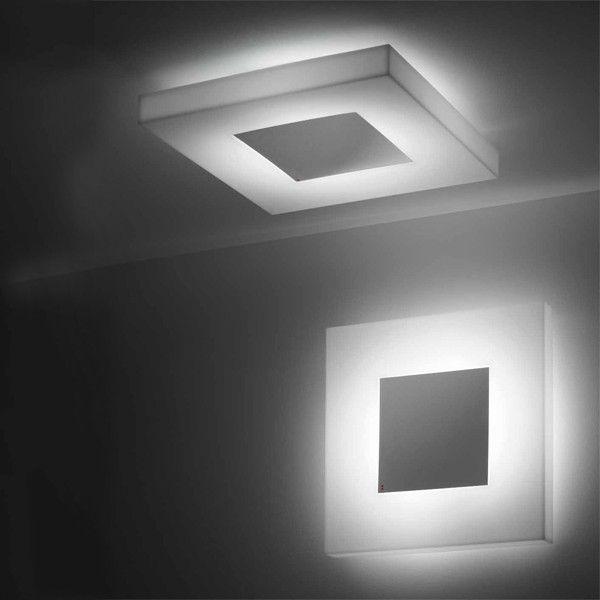 Fabbian Tetras D51 G01 01 Wall / Ceiling Lighting