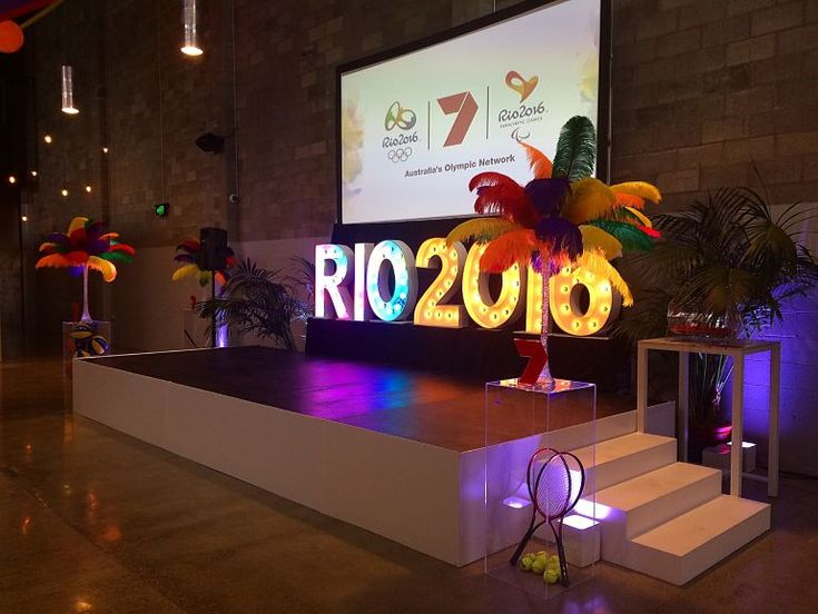 CHANNEL 7 PROGRAM LAUNCH, JANUARY 2016: Styling and hire by Styled Events / Additional hire by Epic Empire / Lighting by AVIdeas / Photos by Oliver Black