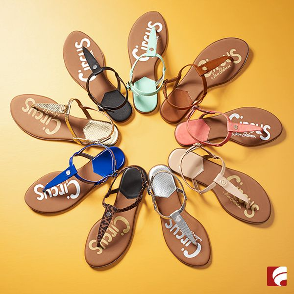 Love 'em? Treat yourself to a pair in every color. The new Circus by Sam Edelman sandals come in every hue your heart desires. And then some!