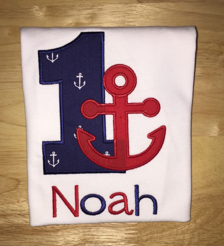Birthday Boy Anchor Shirt - Nautical Birthday Shirt - Red and Navy Embroidered Shirt - First Birthday Shirt - Boys Birthday Shirt by SlickandBoogers on Etsy https://www.etsy.com/listing/236176932/birthday-boy-anchor-shirt-nautical