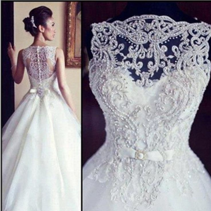 Vestido De Noiva 2016 Lace Wedding Dresses With Embroidery and Beading Bride Dress China Wedding Dress