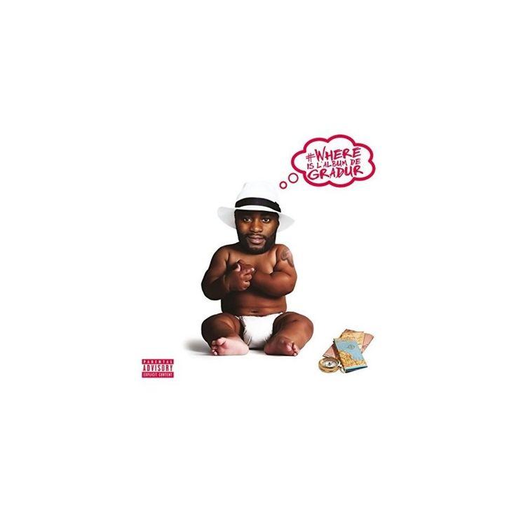 Gradur - Where Is L'album de Gradur (CD)