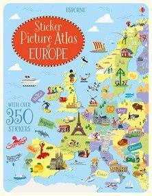 Usborne Sticker Picture Atlas of Europe