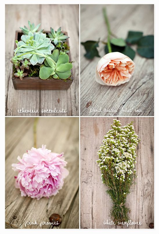DIY Pink Peonies And Succulent Bouquet
