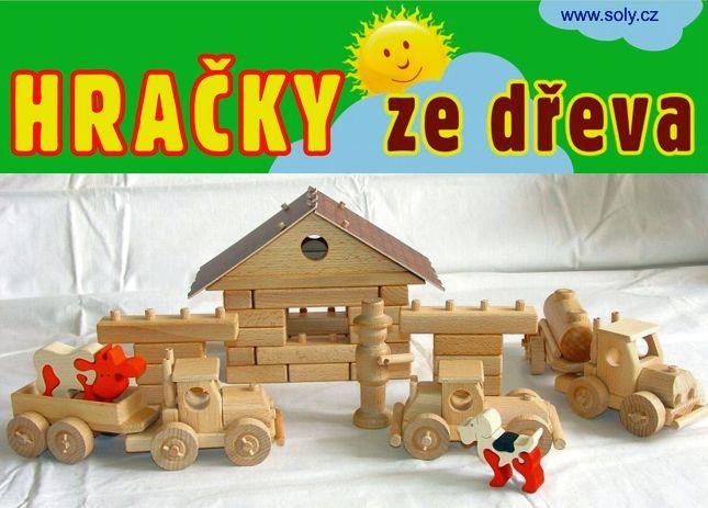 Didaktické dřevěné stavebnice