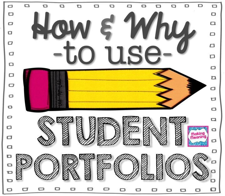 Student Portfolios: how and why I used student portfolios in my elementary classroom