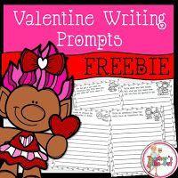 FREE Valentine Writing Prompts