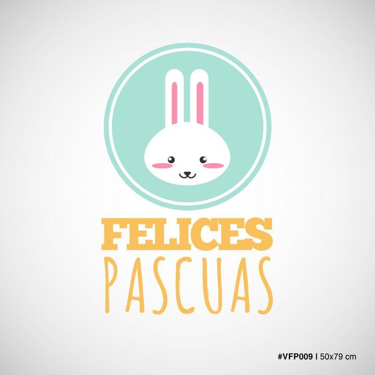Conejo en circulo - Felices Pascuas - #009