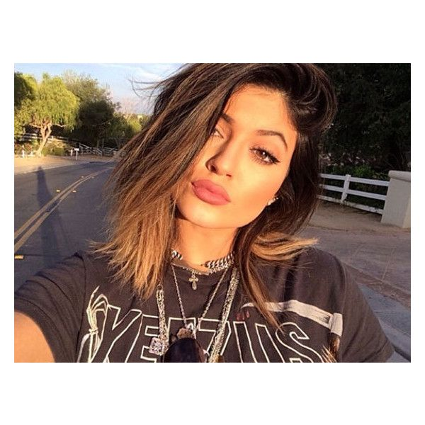 Kylie Jenner Says She's Hurt & Insulted By Plastic Surgery Rumors -... ❤ liked on Polyvore featuring kylie jenner, kylie and pictures