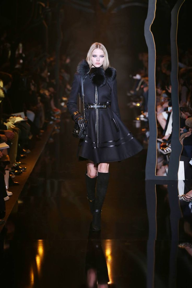 #Elie #Saab Autumn Winter 2015/2016 Ready to #Wear #fashion #show #runway