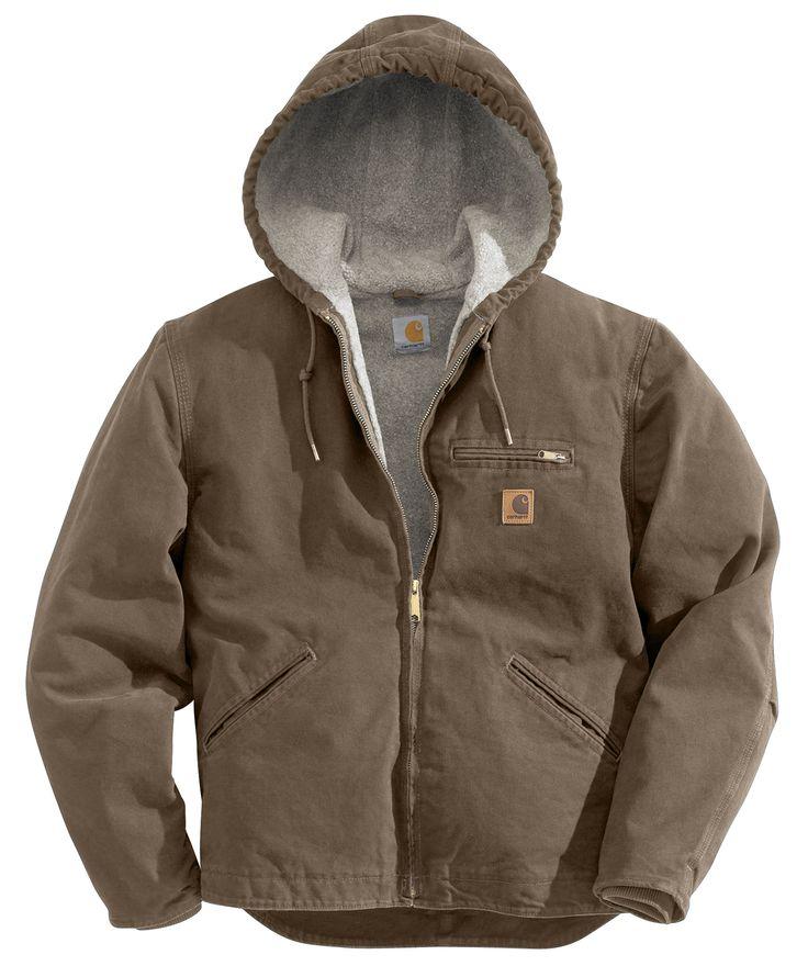 Carhartt Mens Sandstone Sierra Jacket