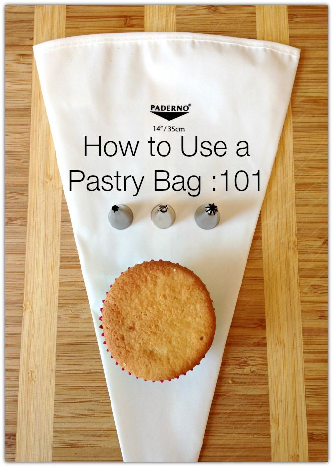 How to use a pastry bag 101 - an easy to follow guide to have you piping like a pro