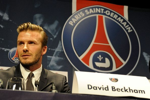 David Beckham holds a press conference to announce he has signed a five month deal to join Paris Saint-Germain. The footballer has claimed he will give his salary, believed to be over $1 million a month, to children's charities.