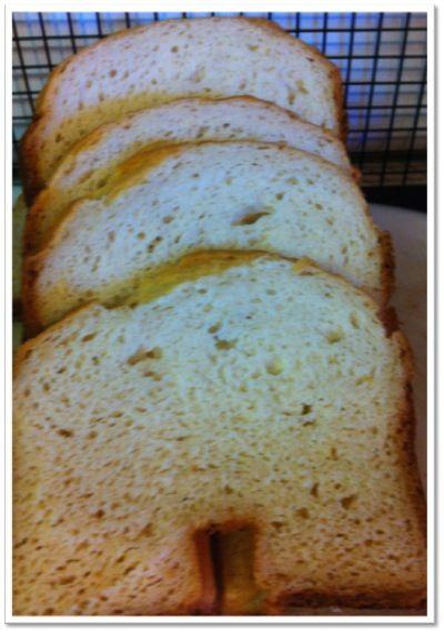 Extraordinary Life: Gluten Free Bread Machine Recipe for White Bread ... tastes more like potato bread.