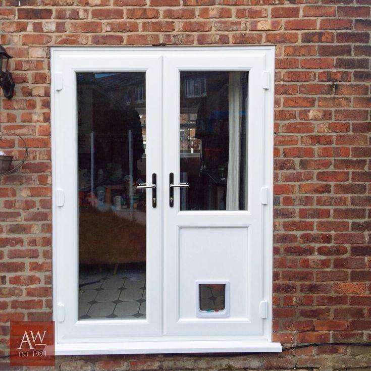 Best 25 upvc french doors ideas on pinterest upvc doors - Exterior french doors with pet door ...