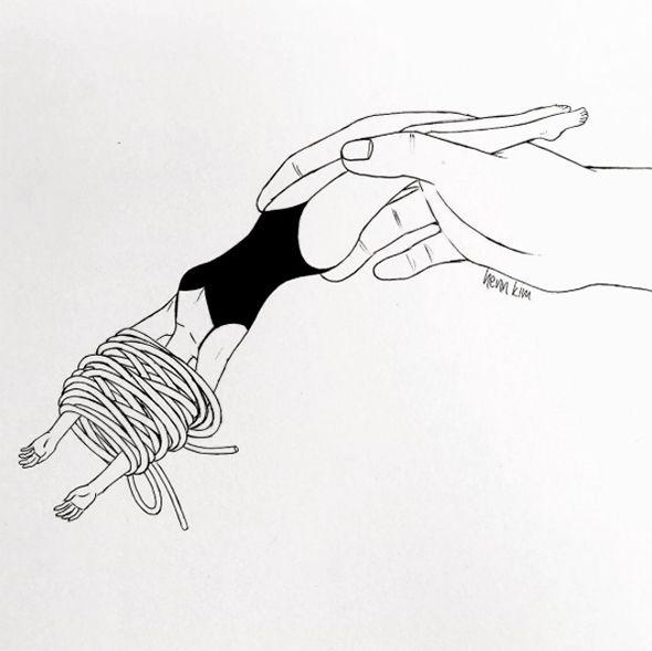 Sogni e deliri in bianco e nero: Henn Kim   PICAME