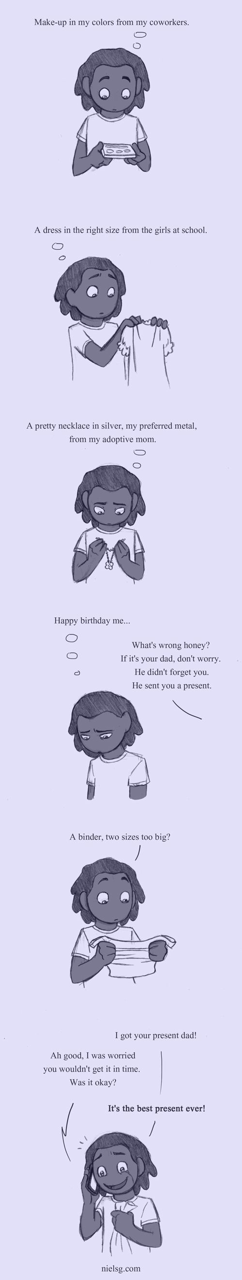 And the cake was pink by humon.deviantart.com on @deviantART