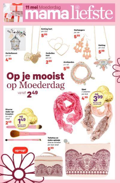 Deze #moederdag #cadeautjes van de #Etos zijn echt aanraders! Vind jij de accessoires ook zo leuk? Bekijk alle cadeautjes voor moederdag in ze folder van Etos via www.reclamefolder.nl of download de app.