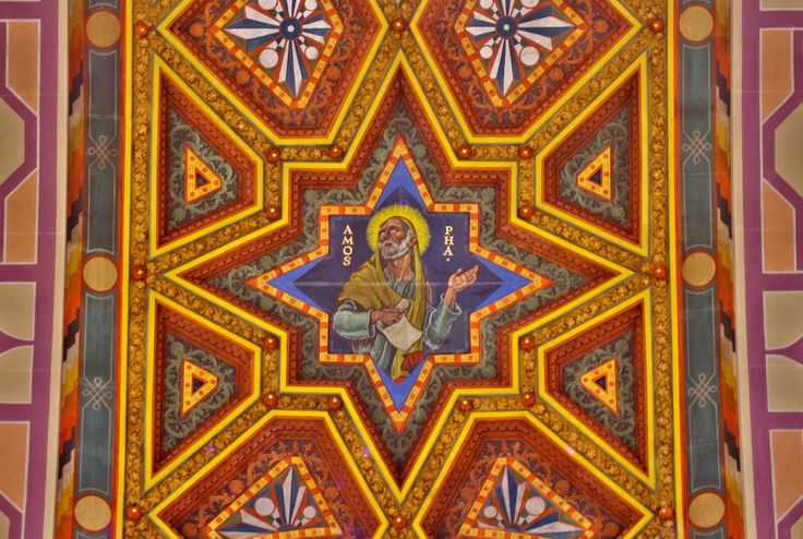 아모스 예언자 Our lady, Queen of the Most Holy Rosary Cathedral, Toledo, Ohio