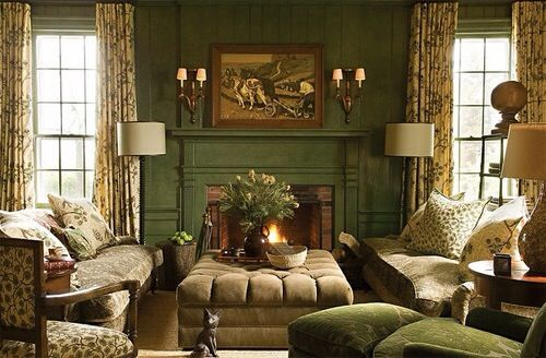 I love everything in this English Room...                                                                                                                                                      More