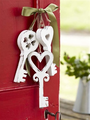 Hand Carved Wood Keys