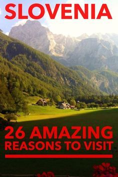 Travel to Slovenia is safe, economical and magical. 26 more reasons to visit Slovenia.