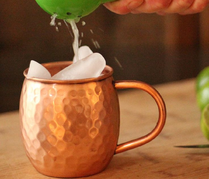 These are my favorite mugs for making Moscow Mules