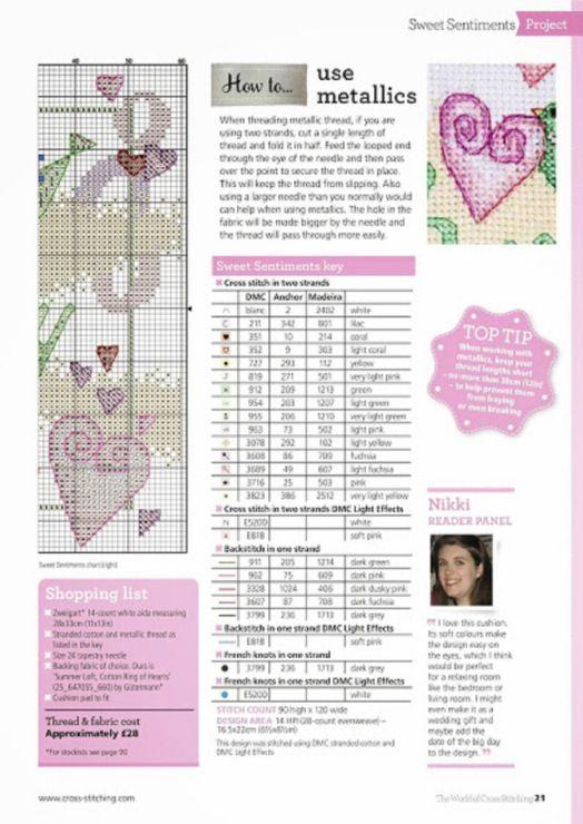 Love story part 2 - cross stitch