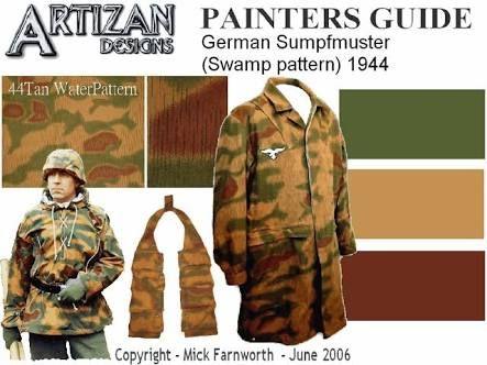 「ww2 german vehicle camouflage patterns」の画像検索結果