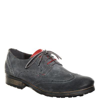 #Scarpa francesina da uomo #CafèNoir in camoscio grigio con lacci bicolor http://www.tentazioneshop.it/scarpe-cafe-noir/scarpa-uomo-tt601-grigio-cafe-noir.html