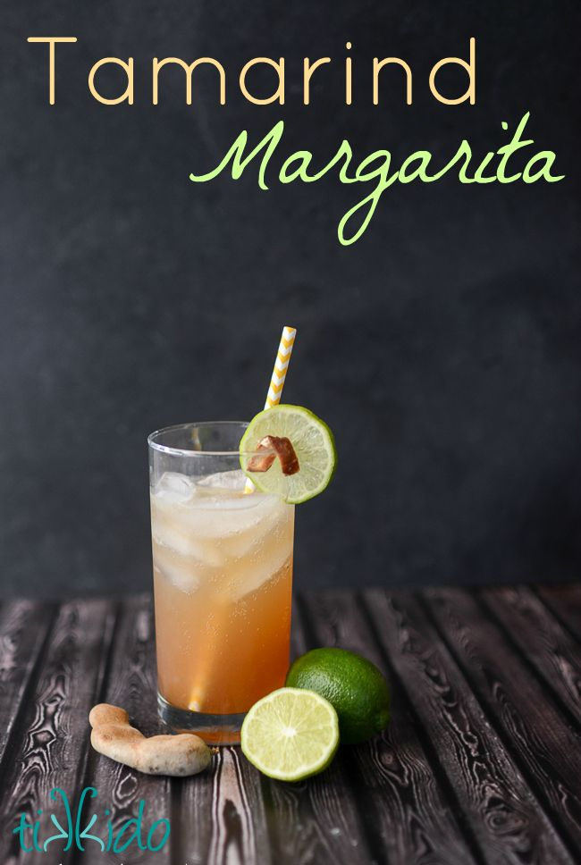 Make a margarita with a tropical twist by adding tamarind to it. Perfect for Cinco de Mayo.