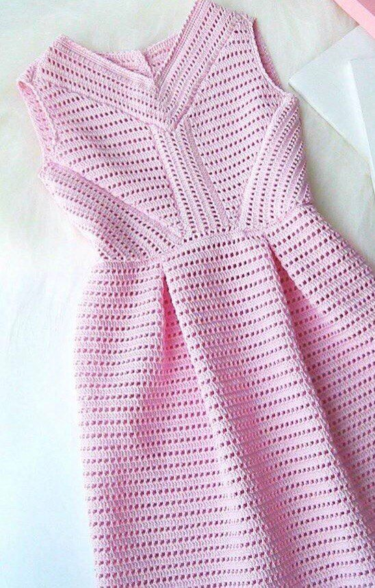 Вязаное платье , автор не известен https://vk.com/nataliv_nadezhdab
