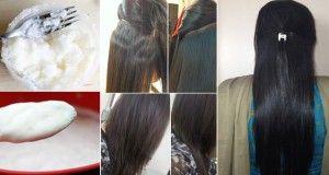 Une recette puissante et naturelle pour lisser vos cheveux !