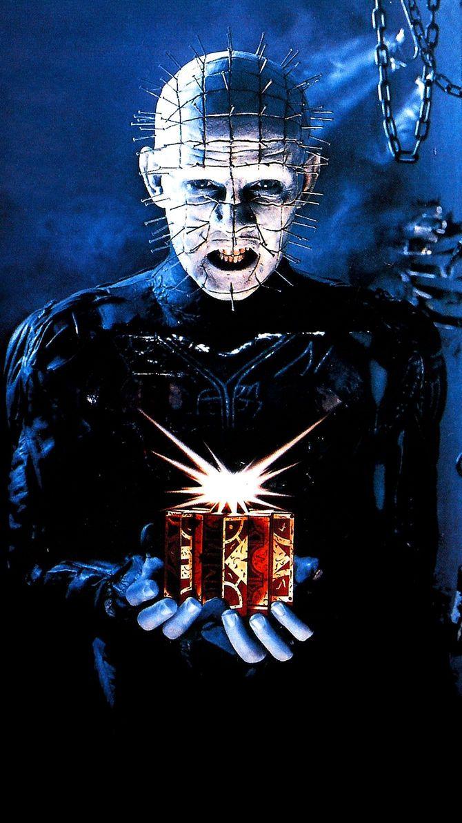 HELLRAISER II HELLBOUND Movie Poster RARE Horror Pinhead