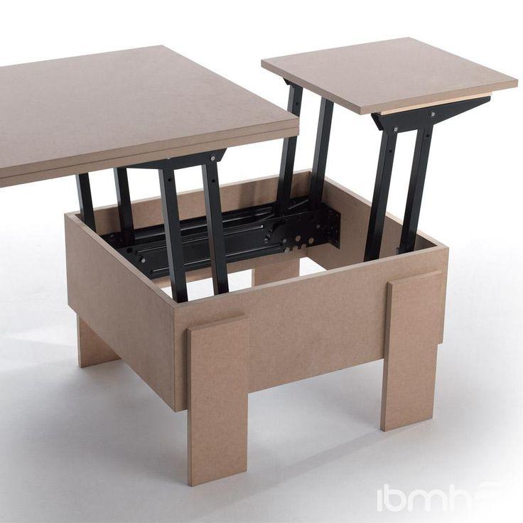 Mejores 8 im genes de mesa plegable en pinterest for Bisagras para muebles de madera